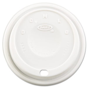 Dart® Cappuccino Dome Sipper Lids