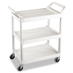 Rubbermaid® Commercial Three-Shelf Service Cart