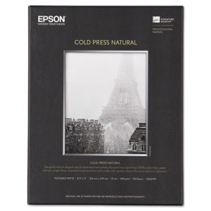 Epson® Cold Press Natural Fine Art Paper