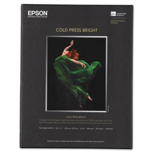 Epson® Cold Press Bright Fine Art Paper