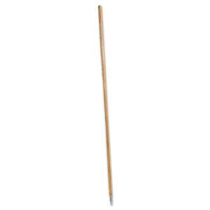 Boardwalk® Metal Tip Threaded Hardwood Broom Handle