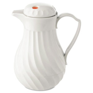 Hormel Swirl Design Poly Lined Carafe