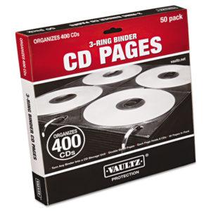 Vaultz® CD Binder Pages