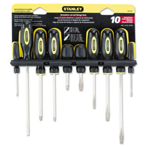Stanley Tools® Standard Fluted Screwdrivers