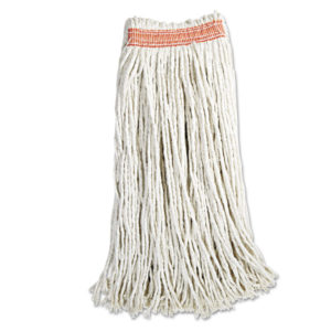 Rubbermaid® Commercial Non-Launderable Cotton/Synthetic Cut-End Wet Mop Heads