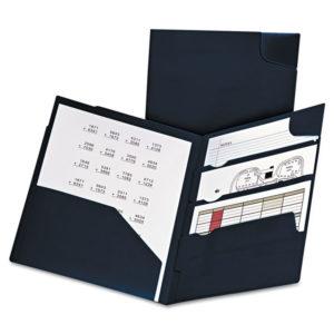 Oxford™ Divide It Up™ Four-Pocket Poly Folder