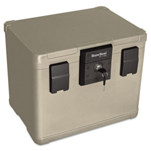 SureSeal By FireKing® 0.6 cu ft/Letter and A4 Size Fire and Waterproof Chest