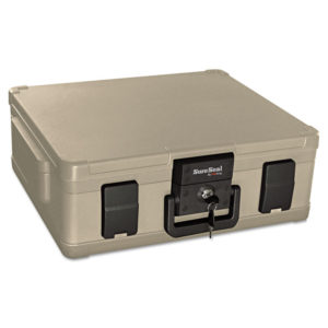 SureSeal By FireKing® 0.38 cu ft/Legal Size UL 1 Hour Fire and Waterproof Chest