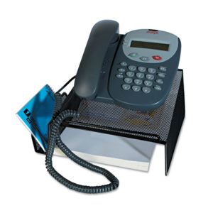 Universal® Deluxe Mesh Telephone Desk Stand