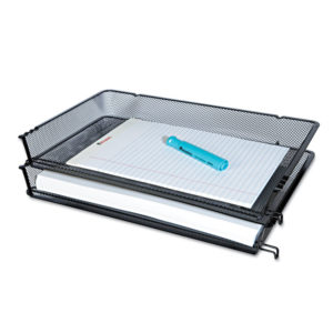 Universal® Deluxe Mesh Stacking Side Load Tray