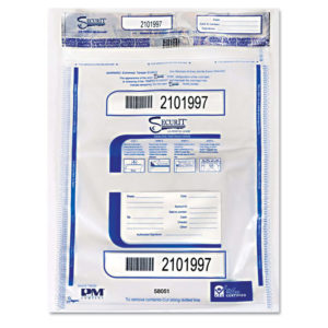 PM Company® SecurIT® Triple Protection Tamper-Evident Deposit Bags
