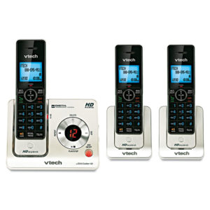 Vtech® LS6425-3 DECT 6.0 Cordless Voice Announce Answering System
