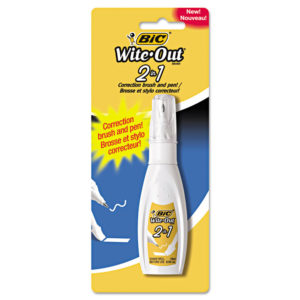 BIC® Wite-Out® Brand 2-in-1 Correction Fluid