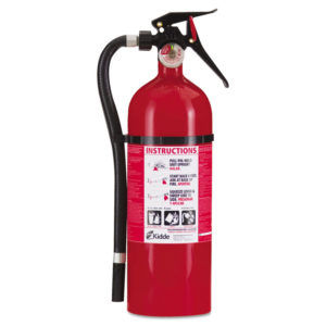 Kidde Service Lite Multi-Purpose Dry Chemical Fire Extinguisher - ABC Type 21006204