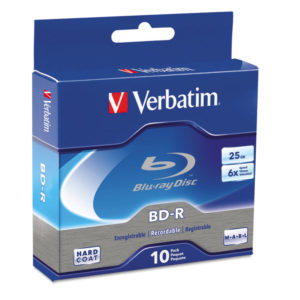 Verbatim® BD-R Recordable Disc