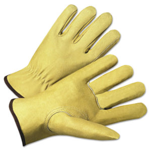Anchor Brand® 4000 Series Pigskin Leather Driver Gloves