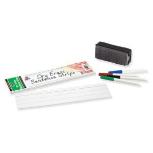 Pacon® Dry Erase Sentence Strips