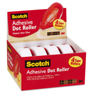Scotch® Double-Sided Adhesive Roller