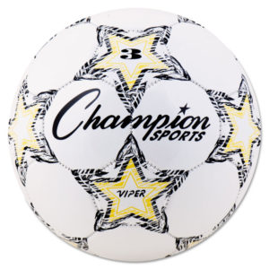 Champion Sports VIPER Soccer Ball