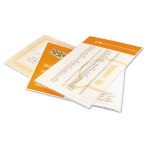 GBC® Economy Thermal Laminating Pouches