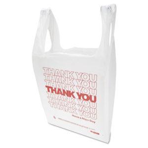 "Inteplast Group ""Thank You"" Handled T-Shirt Bag"