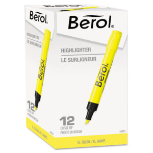 Berol 4009® Chisel Tip Highlighter