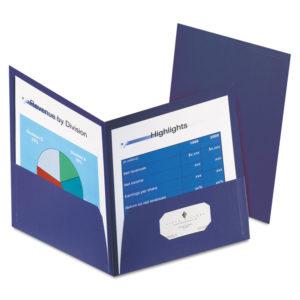 Oxford™ Honeycomb High-Capacity Twin Pocket Folders