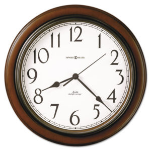 Howard Miller® Talon Auto Daylight-Savings™ Wall Clock