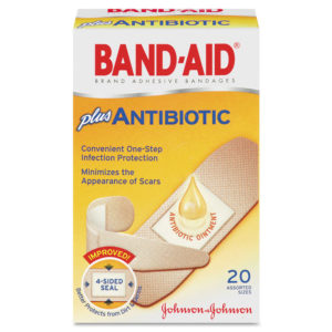 BAND-AID® Antibiotic Bandages