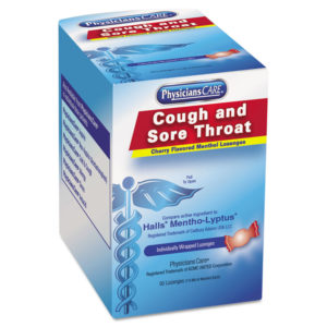 PhysiciansCare® Cough and Sore Throat Lozenges