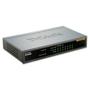 D-Link® 8-Port Ethernet/PoE Desktop Switch