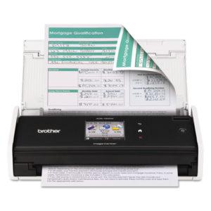 Brother ImageCenter™ ADS-1500W Wireless Compact Color Desktop Scanner