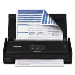 Brother ImageCenter™ ADS-1000W Wireless Compact Color Desktop Scanner