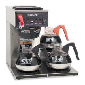 BUNN® CWTF-3 Three Burner Automatic Coffee Brewer