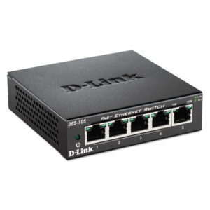 D-Link® Unmanaged 10/100 Switch