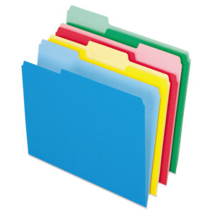 Pendaflex® Colored File Folders