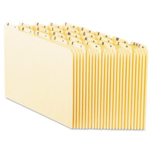 Pendaflex® Top Tab A-Z File Guides