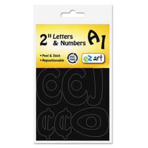 Identity Group EZ Art Repositionable Letters and Numbers