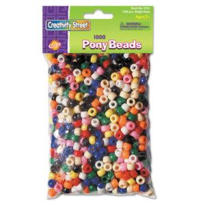 Chenille Kraft® Pony Beads