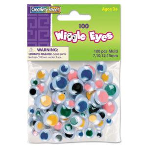 Creativity Street® Wiggle Eyes Assortment