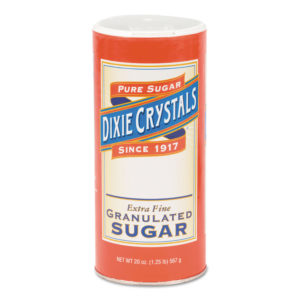 Diamond Crystal Granulated Sugar Canisters