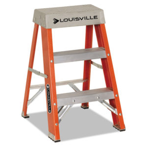 Louisville® Fiberglass Heavy Duty Step Ladder