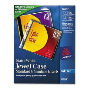Avery® Jewel Case Inserts