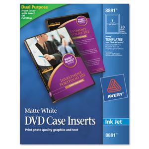 Avery® DVD Case Inserts