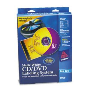 Avery® CD/DVD Design Labeling Kits