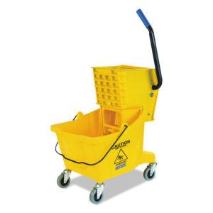 Flo-Pac® Side-Press Bucket/Wringer Combo