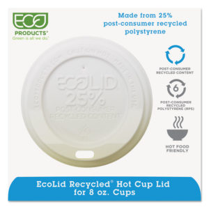 Eco-Products® EcoLid® 25% Recycled Content