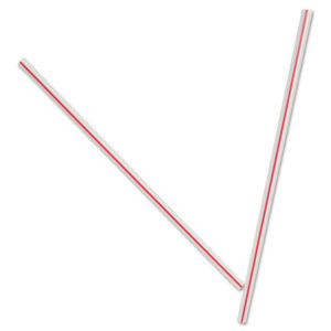 Dixie® Unwrapped Hollow Stir-Straws