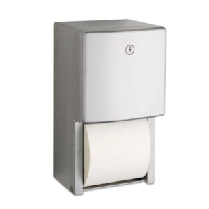 Bobrick ConturaSeries® Two-Roll Tissue Dispenser