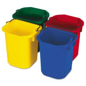 Rubbermaid® Commercial Five-Quart Disinfecting Utility Pail